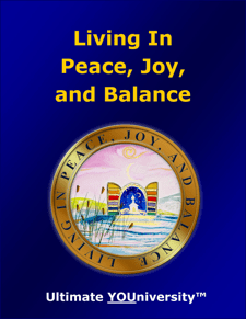 Living in Peace, Joy and Balance - Collaborative Infopreneurship
